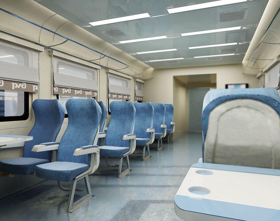 Дизайн пассажирских вагонов