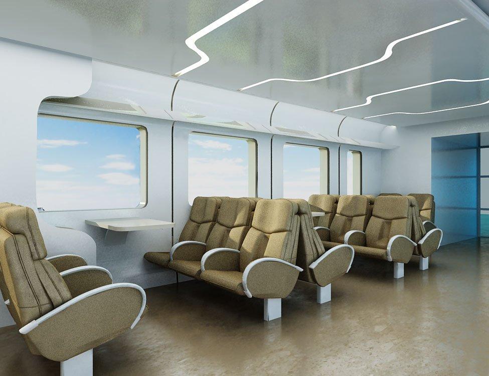 Дизайн вагонов
