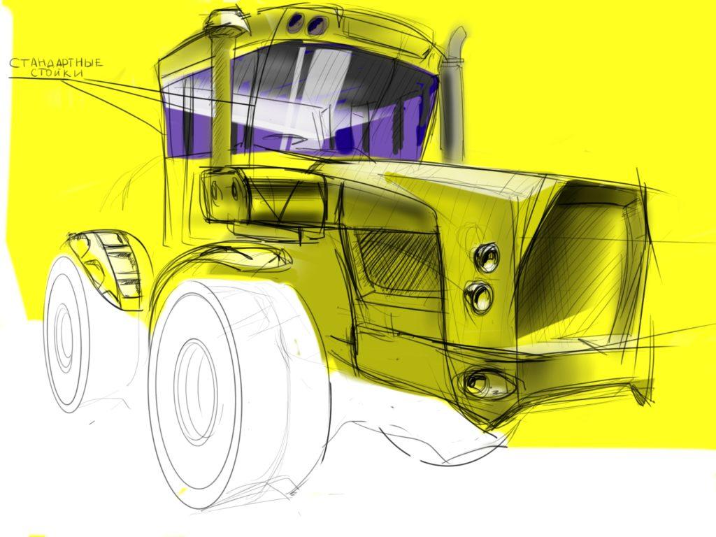 Рестайл трактора